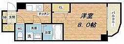 セレニテ本町ROJI02[8階]の間取り
