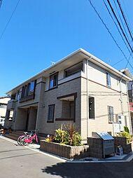 大阪府大阪市阿倍野区松虫通1丁目の賃貸アパートの外観