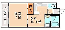 ボンツアー3番館[3階]の間取り