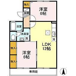 HOUSE T&T[2階]の間取り