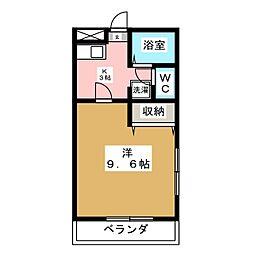 STAYニュータイプ[4階]の間取り