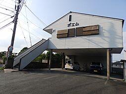 三重県松阪市田村町の賃貸アパートの外観