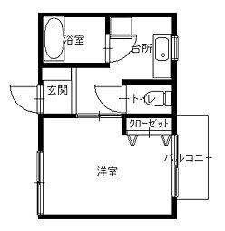 諏訪神社駅 3.8万円