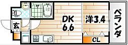 No.71 オリエントトラストタワー[18階]の間取り