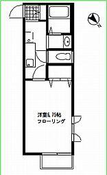 プランドール・シノハラ[203号室号室]の間取り