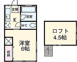 第2コーポハジメ[2階]の間取り