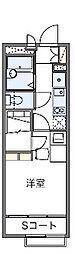 レオパレスセードルII[2階]の間取り
