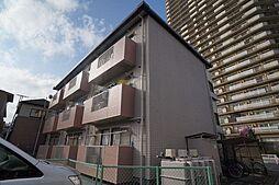 埼玉県桶川市若宮2の賃貸アパートの外観