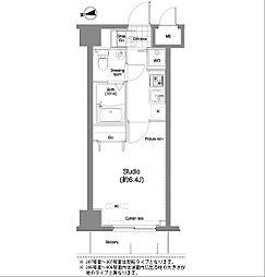 コンフォリア木場公園[2階]の間取り