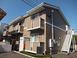 愛媛県松山市土橋町の賃貸アパートの外観