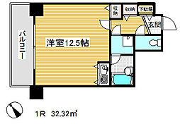 ライオンズマンション神戸元町通[4階]の間取り