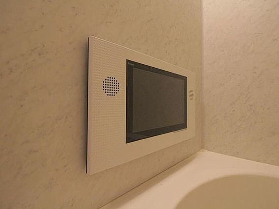 浴室 TV
