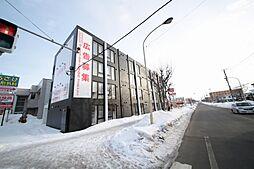 北海道北広島市中央1丁目の賃貸マンションの外観