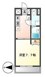 T's Dream名駅[7階]の間取り