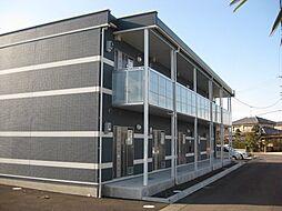 愛知県稲沢市祖父江町森上の賃貸アパートの外観