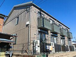 東京都町田市常盤町の賃貸アパートの外観