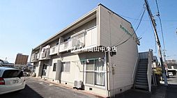 岡山県岡山市北区今4丁目の賃貸アパートの外観
