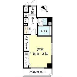 東建シティハイツ鶴見中央[406号室]の間取り
