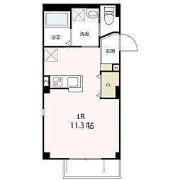 栄区笠間2丁目 ラ・ミューズ201号室[201号室号室]の間取り