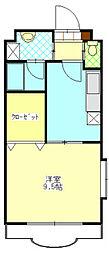 エクセレント富士[1階]の間取り
