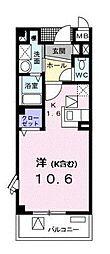 神奈川県横浜市港北区新吉田東3丁目の賃貸マンションの間取り