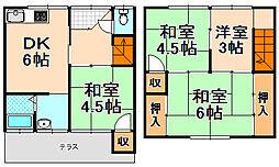 [テラスハウス] 兵庫県伊丹市緑ケ丘3丁目 の賃貸【兵庫県 / 伊丹市】の外観