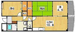 サンモール21[3階]の間取り