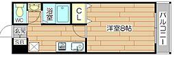 ドームイバロード[5階]の間取り