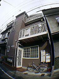 京都府京都市下京区志水町の賃貸アパートの外観