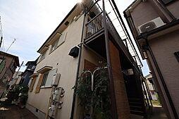 兵庫県尼崎市西立花町3丁目の賃貸アパートの外観