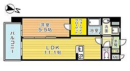 仮)アクシオ北九州[7階]の間取り