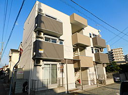 兵庫県姫路市神屋町3丁目の賃貸アパートの外観