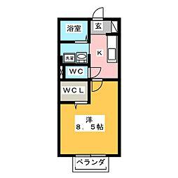 アミエーラ[2階]の間取り