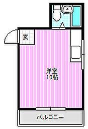 ユニライフコトブキ[3階]の間取り