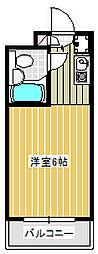 Dessert inn Tsujido[202号室]の間取り