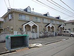 茨城県守谷市薬師台1丁目の賃貸アパートの外観