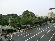 周辺環境:九段坂公園