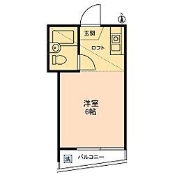 シェ・モワ烏山[0202号室]の間取り