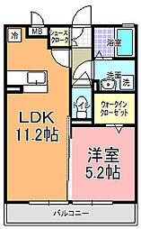 パーク・ド・プランタン C[2階]の間取り