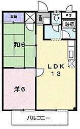 シティハイツ千種I[2階]の間取り