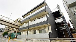 神奈川県川崎市高津区溝口6丁目の賃貸マンションの外観