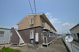 兵庫県姫路市余部区下余部の賃貸アパートの外観