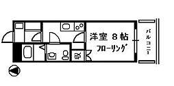 雄志レジデンス[2階]の間取り