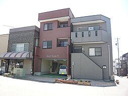 長野県飯田市東新町1丁目の賃貸マンションの外観