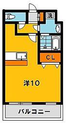 大島マンション2[205号室]の間取り