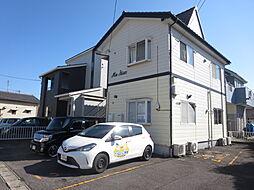 新潟県新潟市北区高森新田の賃貸アパートの外観