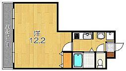 桂川ショウエイマンション[1階]の間取り