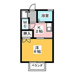 NAPORI滝の水[2階]の間取り