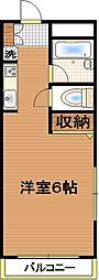 第3関根ビル[402号室号室]の間取り