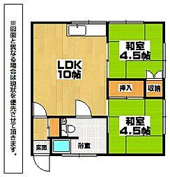 野村アパート[1階]の間取り